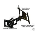 "UNIVERSAL UADD-32X Dual Arm (32"" extension) Articulating mount 40"" to 90"" FREE SHIPPING"
